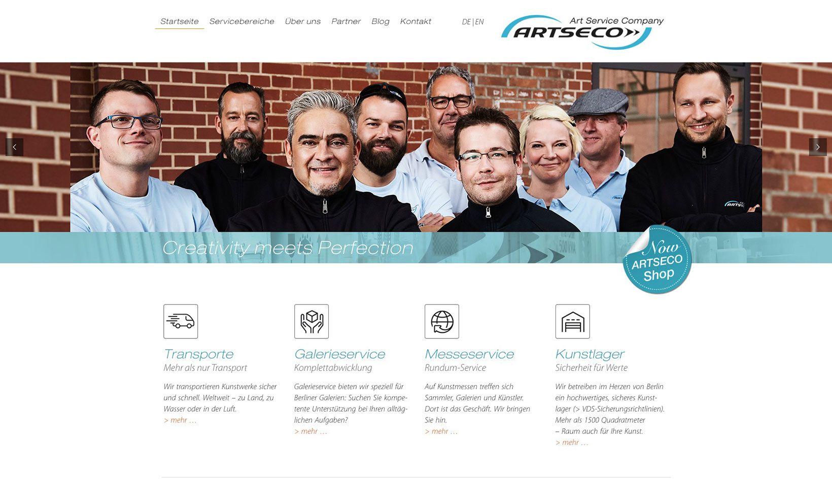 ARTSECO GmbH - Kunsttransport
