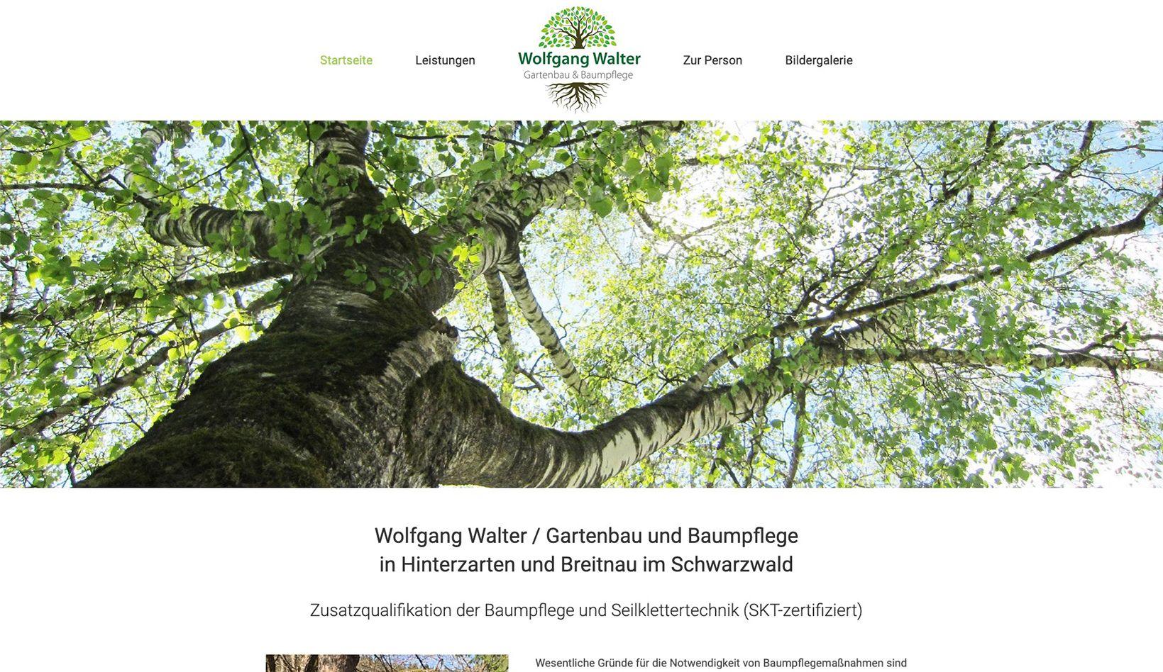 Wolfgang Walter Baumpflege
