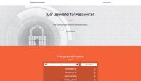 Generator Passwort