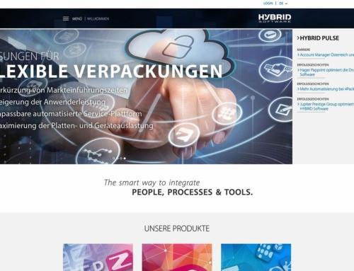 Hybridsoftware Hauptseite